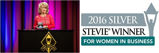 Liz Trotter Stevie Silver Winner 2016